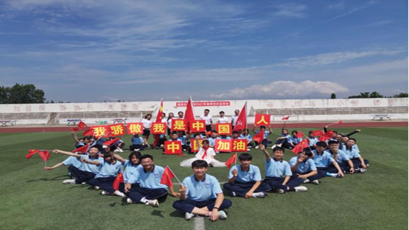 铺镇初中举行推广普通话宣传周活动