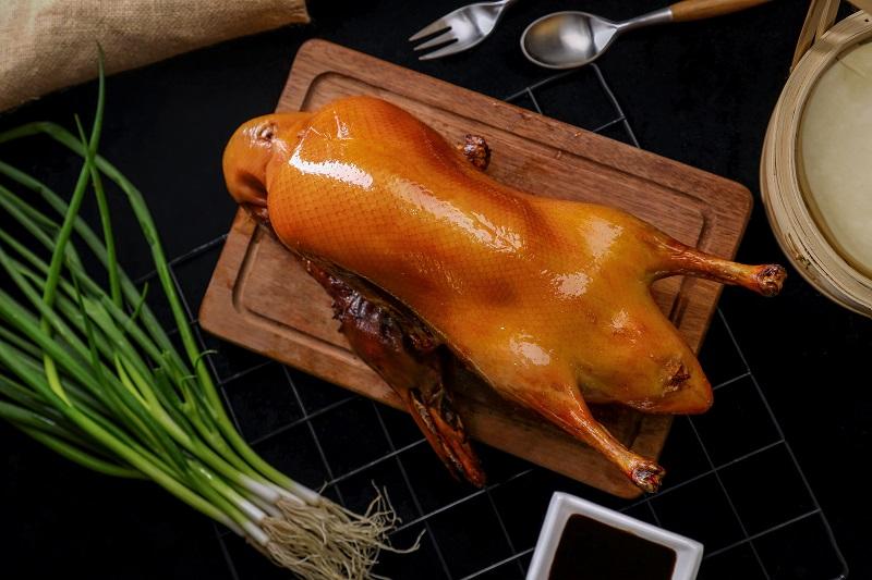 北京烤鴨,火刻烤鴨