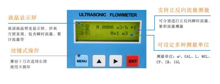 一体插入式超声波流量计