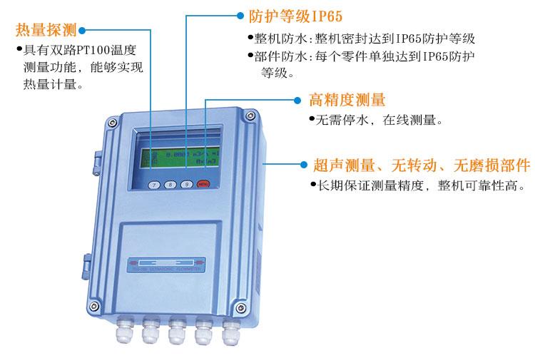 固定插入式超声波流量计TDS-100F1AC