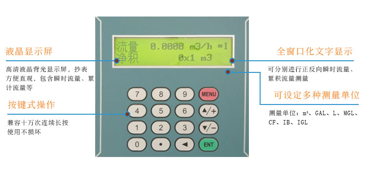 防爆管段式超声波流量计TDS-100F2AG