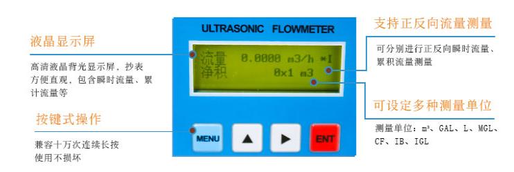 一体管段式超声波热量表价格