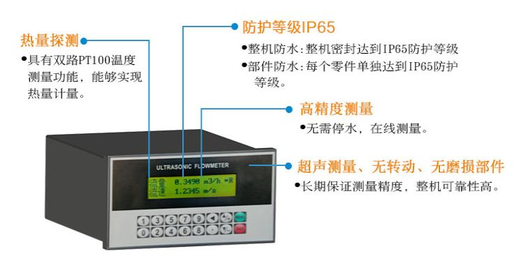 盘装管段式超声波热量表