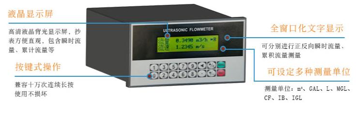 盘装管段式超声波热量表价格