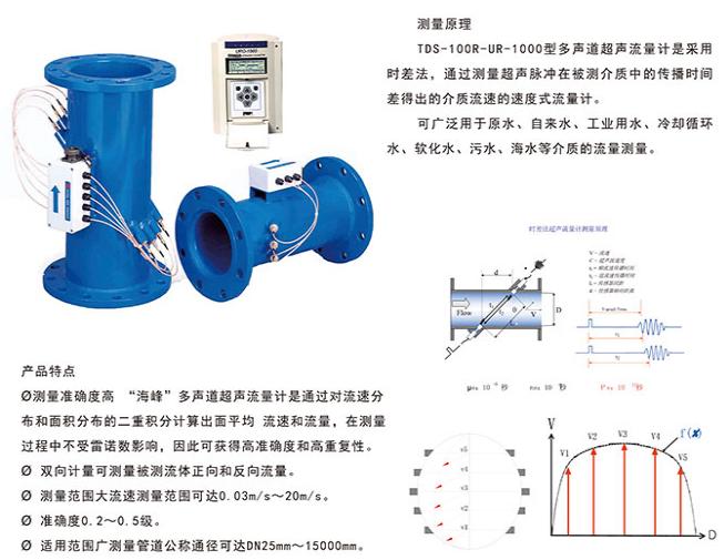 多声道超声波热量表TDS-100R-UR-1000