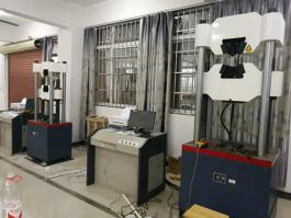 100吨微机屏显液压万能试验机实拍