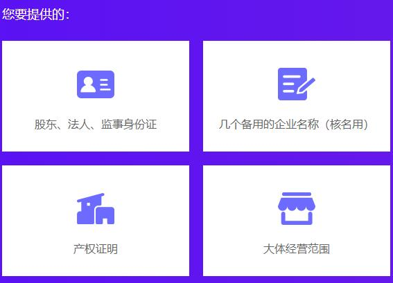 公司注册提供的材料.jpg