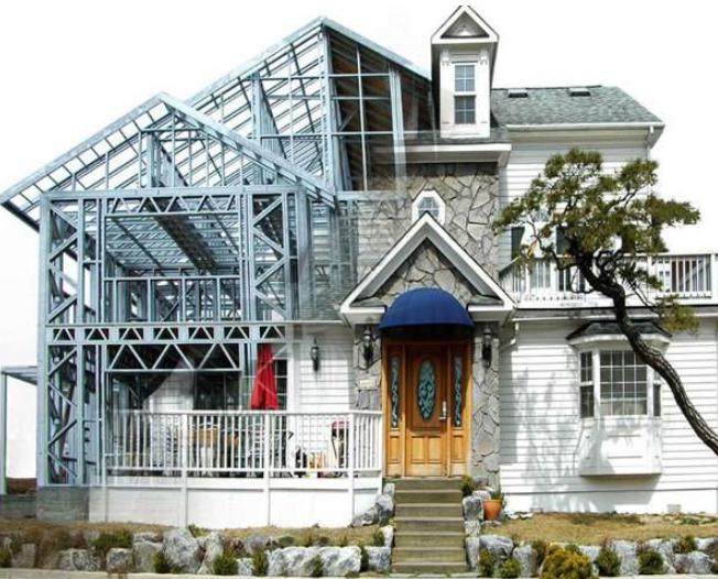 杭州轻钢别墅厂家建房如何轻质化?进来一看便知!