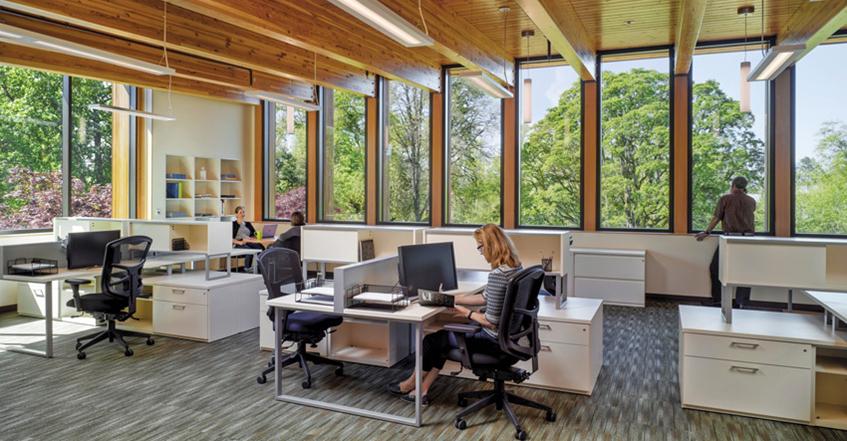 商业与工业建筑中,木材的七个优势