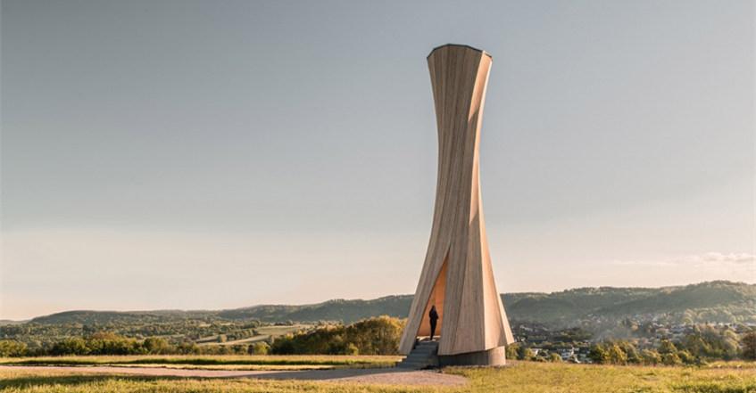 【德国】乌尔巴赫塔:独特的木结构建筑