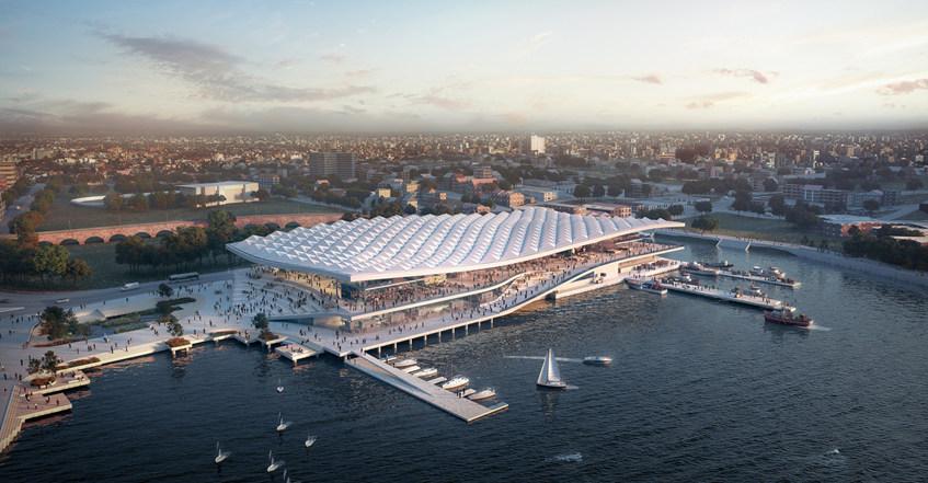 """重磅!65000平米的木结构""""悉尼鱼市""""八周内开建,将于2024年开放"""
