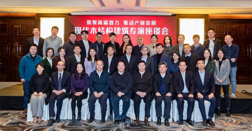 刘能文主任受邀出席现代木结构建筑专家座谈会