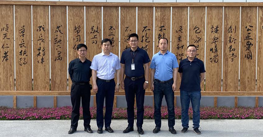 中国木材保护工业协会常务副会长党文杰一行 考察调研山东企业