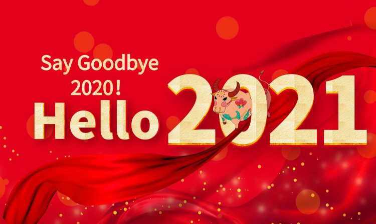 Say Goodbye 2020, hello 2021, may you shine as bright as the sun, this life is bright and not sad