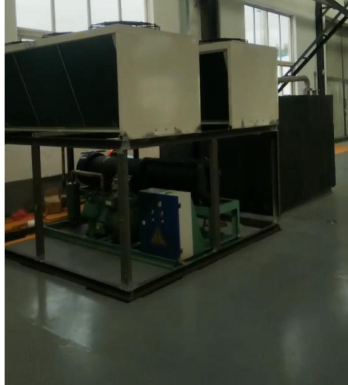 低溫冷水機壓縮機液擊現象和解決方法,和分體式風冷冷水機制冷劑泄漏處理方法
