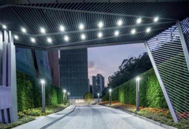 悦彩城展周边道路景观提升工程