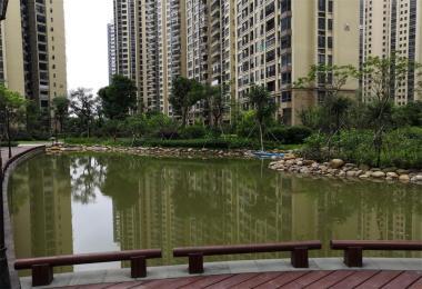 博雅滨江花园二期非展示区园林景观