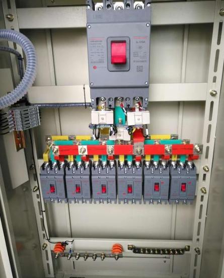 配电柜接线原理图