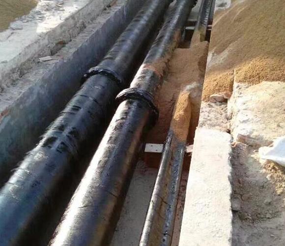 淄博松尚复合材料有限公司衬四氟管道工程施工案例