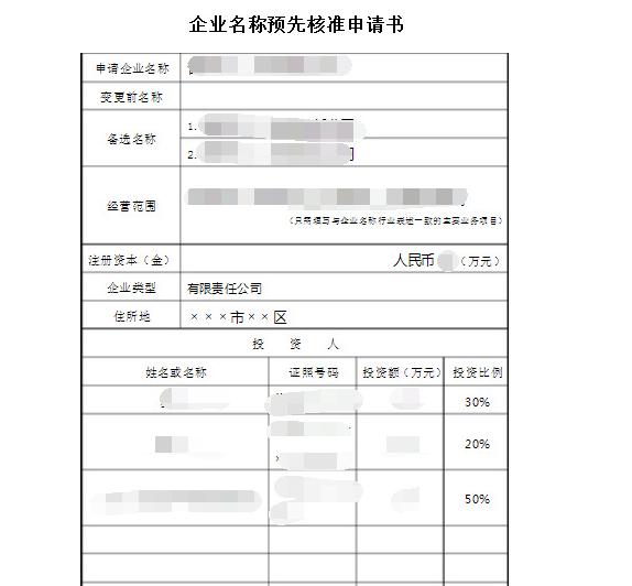 杭州注册公司需要准备的材料