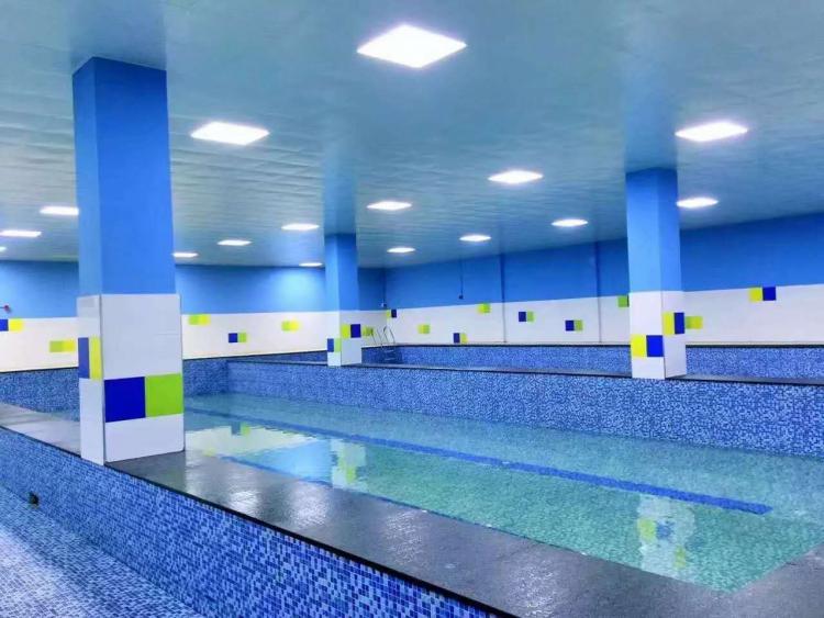 杭州西城美墅室内恒温泳池设备