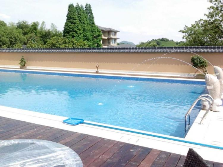 富阳银湖街道和尚庄私家别墅泳池