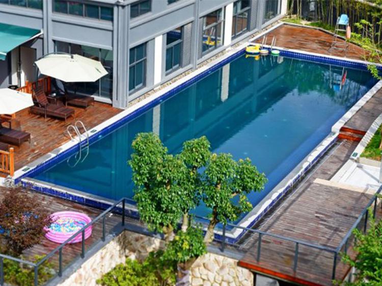 千岛湖峰泰君亭酒店室外泳池