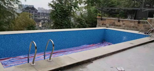 德清隐龙山庄私家别墅泳池