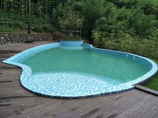 莫幹山愛町堡民宿酒店遊泳池