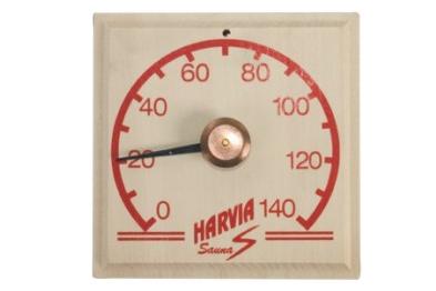 HARVIA四方木湿度计