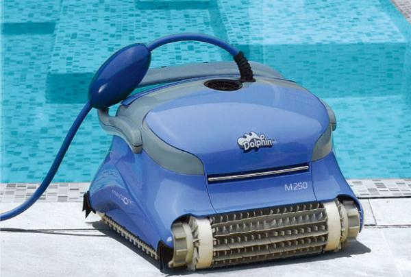 海豚maytronics M250全自动泳池吸污机