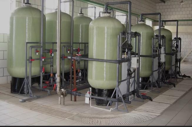 大型自动锅炉软化水设备
