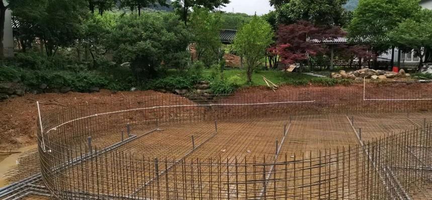 建别墅泳池