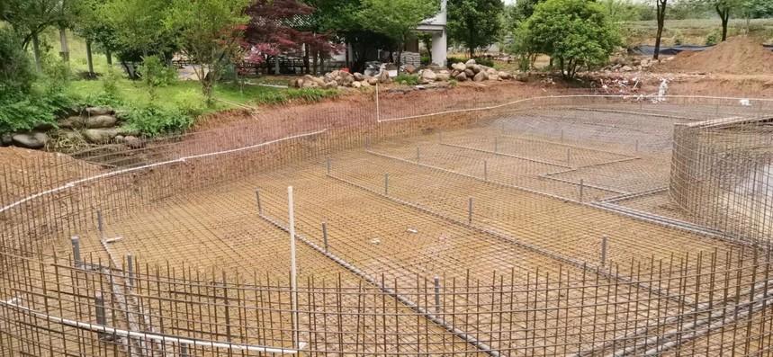 这些泳池循环水处理系统的施工