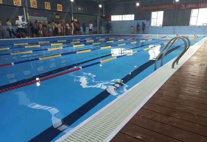 钢结构游泳池施工