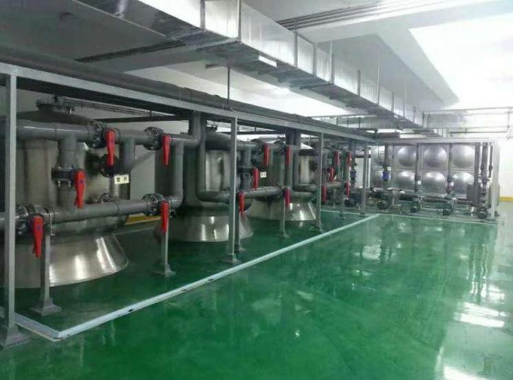 杭州丁桥新城体育馆标准泳池设备工程