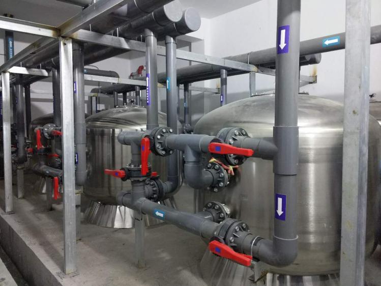 常州愛琴海購物中心奧特萊斯景觀水處理工程