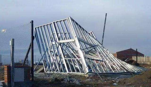 轻钢别墅倒塌事件原因