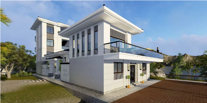 轻钢结构别墅