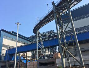 吉林碳素厂管状机使用现场