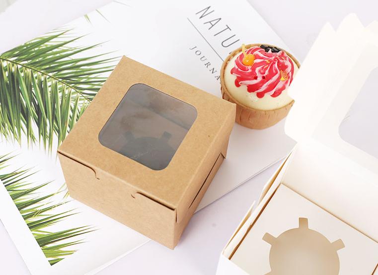 涂布牛卡纸蛋糕盒