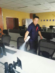 兰州市安宁区中国海关监控室bet贝博体育app治理施工案