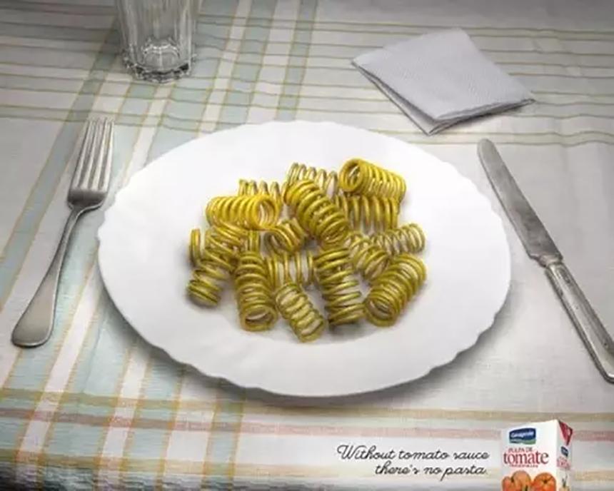 几个给你的灵感的创意广告设计!不看后悔哦!