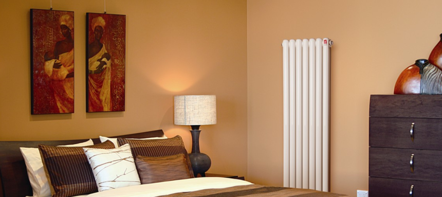 卧室暖气片安装效果图