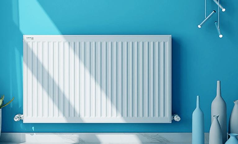 书房暖气片安装效果图
