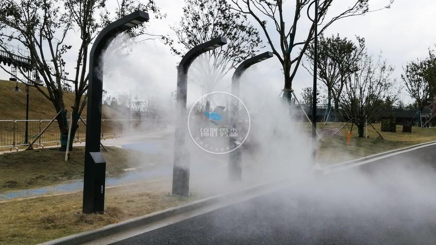 喷雾降温,水雾降温