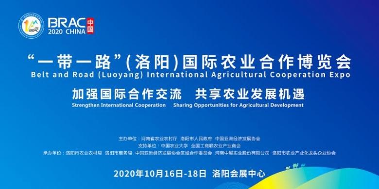 """首届""""一带一路""""(洛阳)国际农业合作博览会16日开幕"""