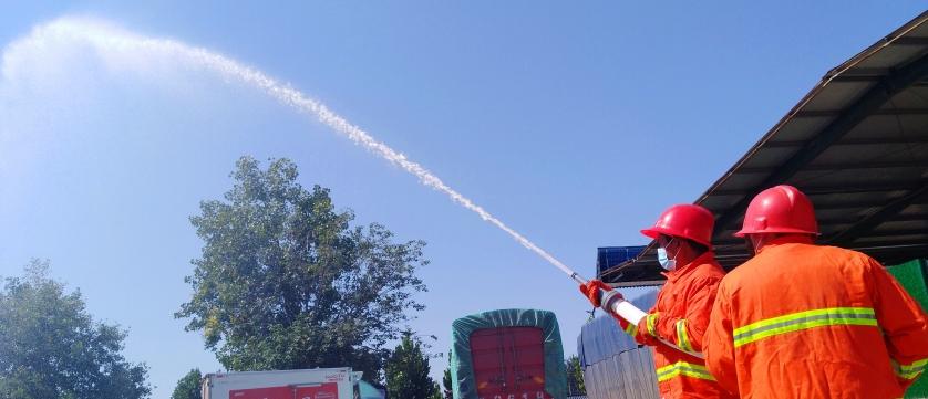 【通河官网】瀍河区消防部门到通河农贸城检查指导消防工作