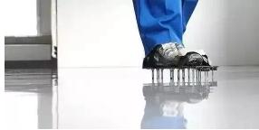水泥自流平钉鞋