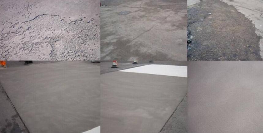 路面聚合物修补砂浆
